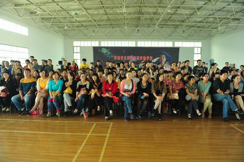 孟津典礼个人中心开园国际v典礼学生军训幼教高中图片