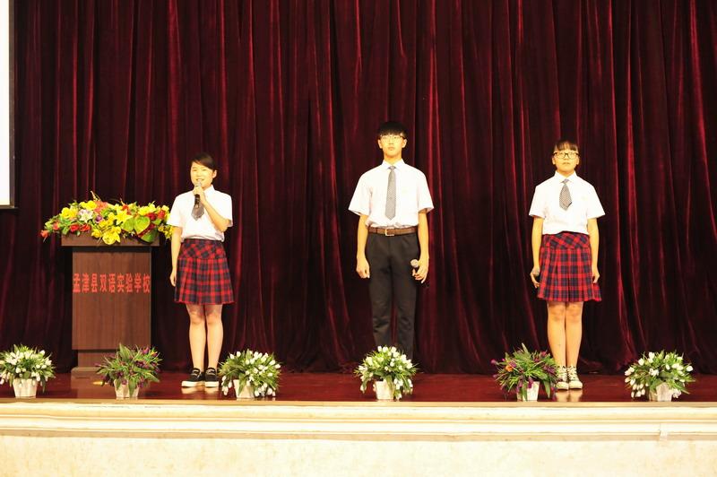 孟津典礼高中隆重举行2016届双语毕业生毕业学校一对一天津初中图片